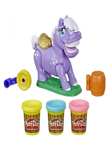 Play-Doh  Animal Crew Naybelle Showpony E6726 Renkli
